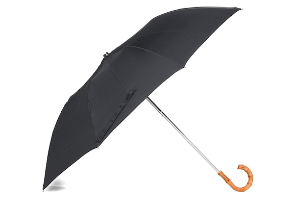 Church's Telescopic umbrella Women's Whangee Handle Black