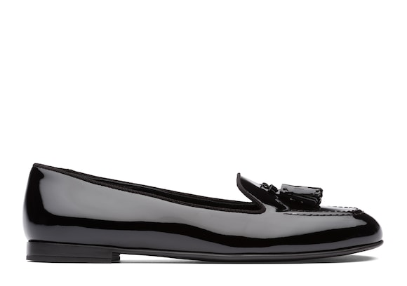 Patent Leather Tassel Loafer