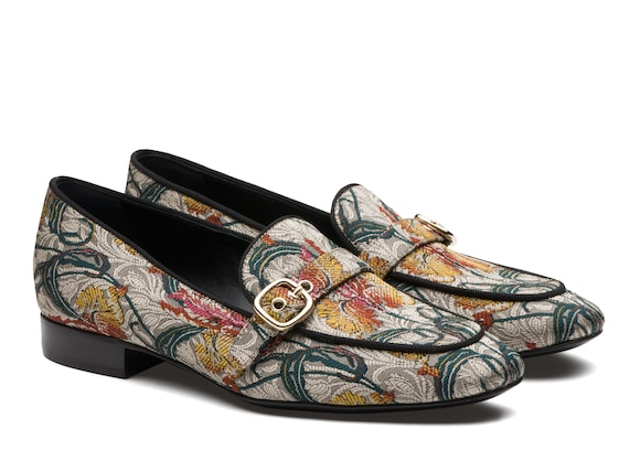 Church's  Jaquard Bouquet Buckle Loafer Multicolor