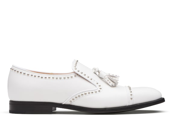 Church's true Calf Leather Loafer White