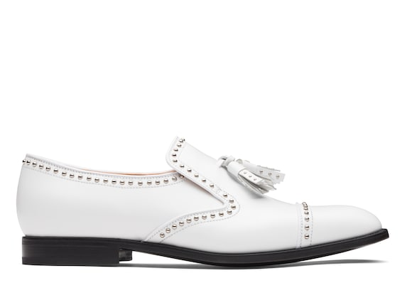 Church's Carolyn met. 2 Calf Leather Moccasin White
