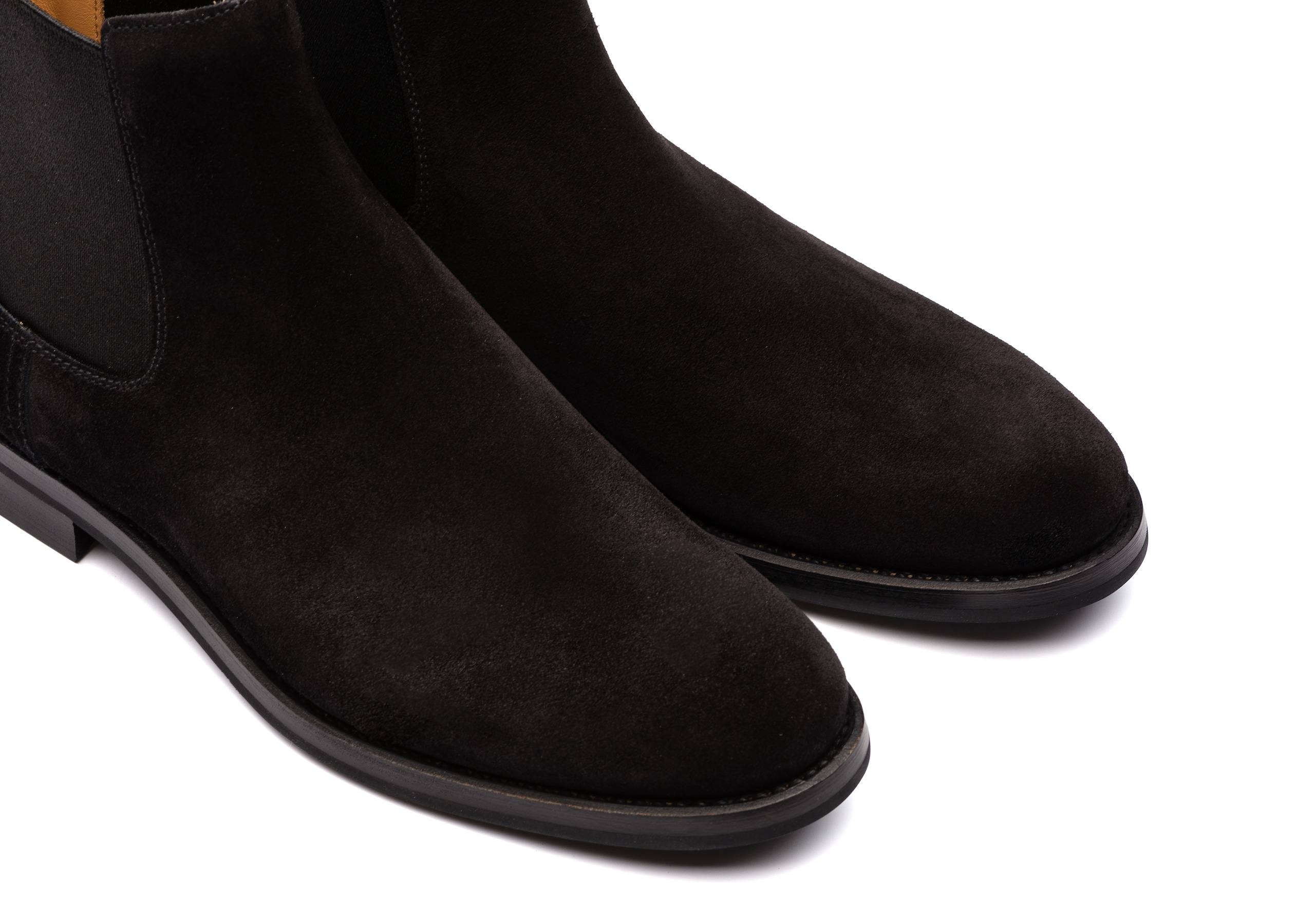 Monmouth wg Church's Suede Chelsea Boot Black