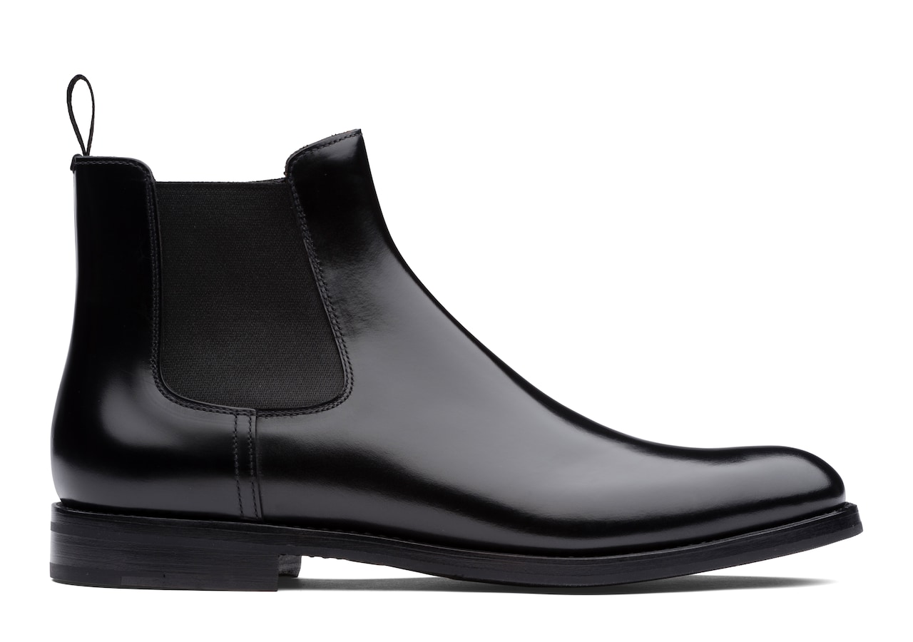 Monmouth wg Church's Polished Binder Chelsea Boot Black