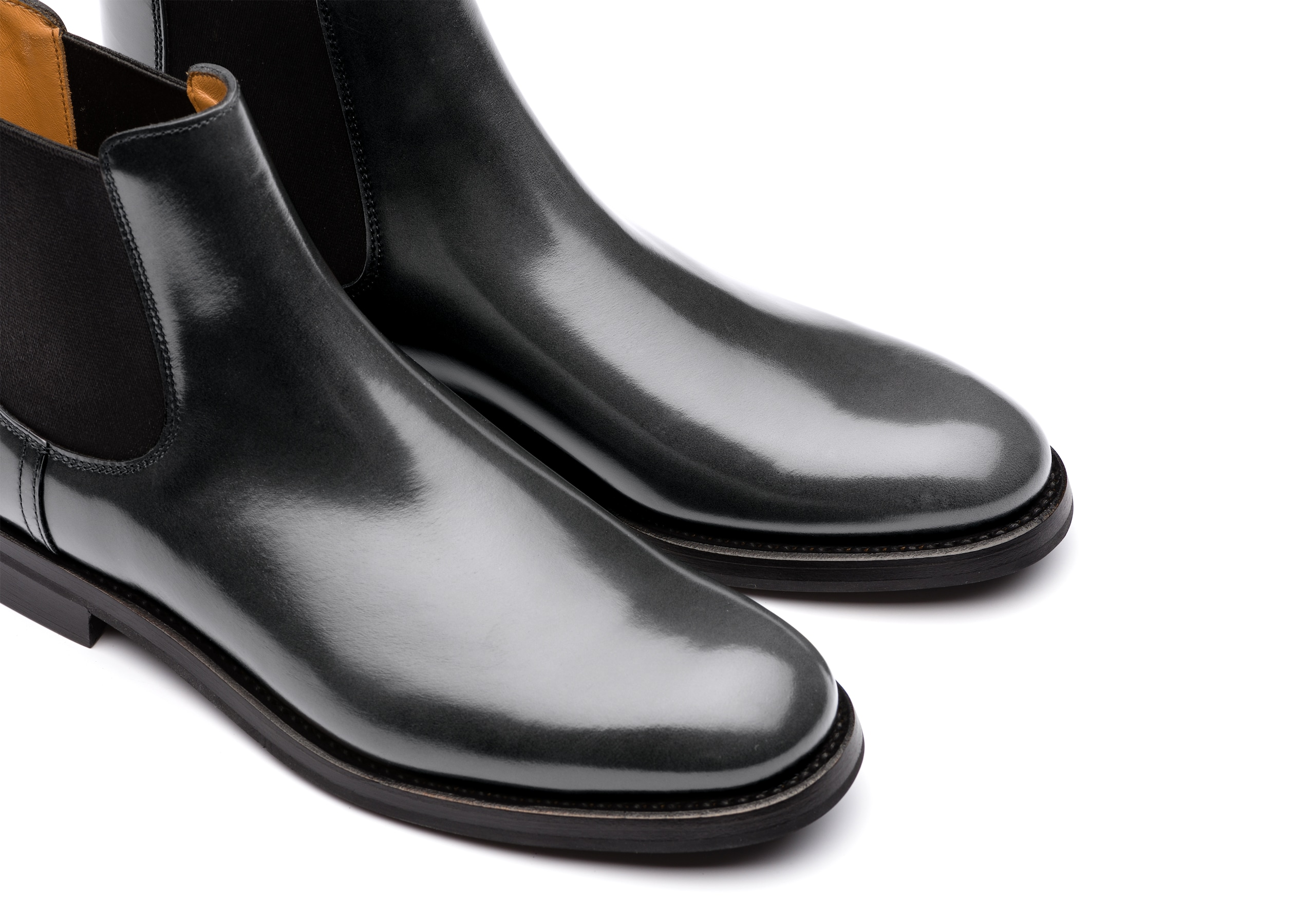 Monmouth wg Church's Polished Binder Chelsea Boot Grey