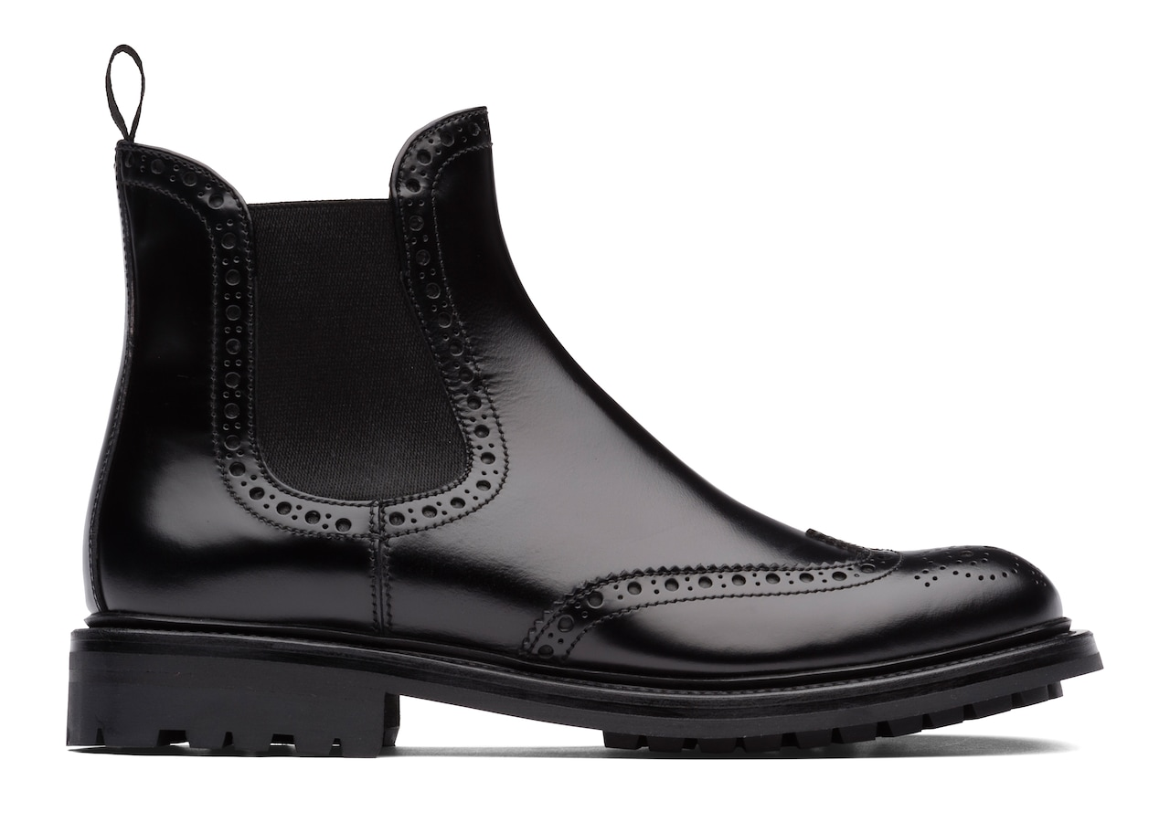 32777f8bf53b0 Aura 2 Rois Calf Chelsea Boot Brogue Black Church's ...