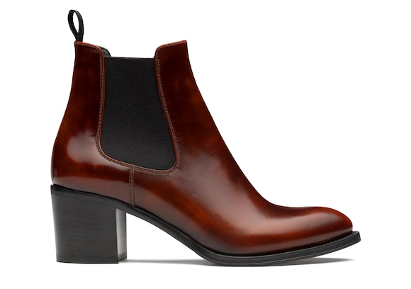 Church's true Polished Fumè Heeled Boot