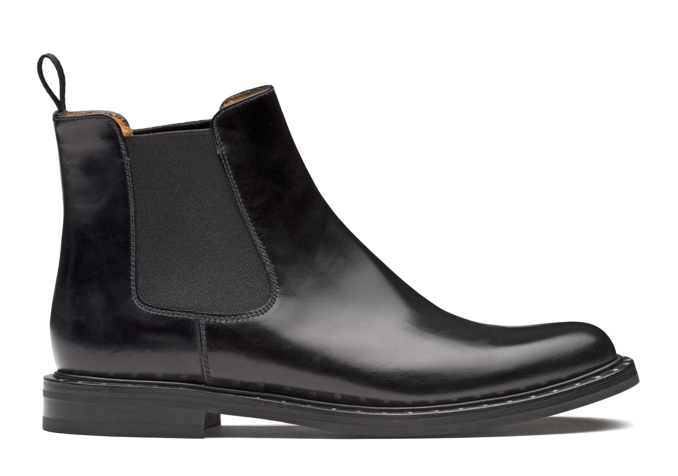 Nirah 2 met Church's Rois Calf Chelsea Boot Stud Black