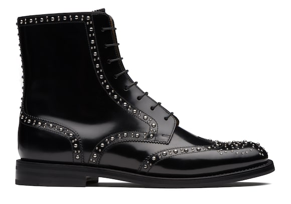 Church's Cora met Polished Binder Lace-Up Boot Stud