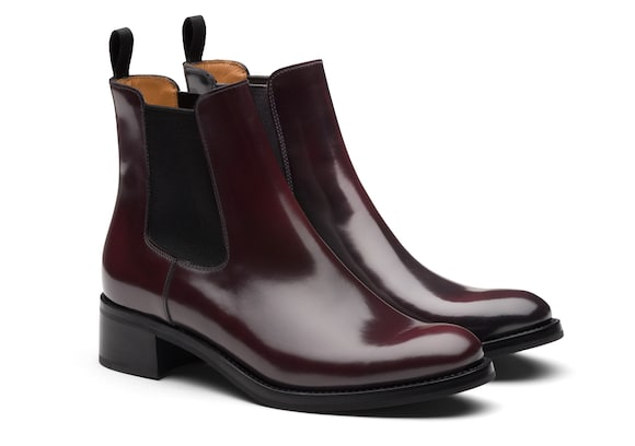 Church's  Polished Fumè Chelsea Boot Burgundy