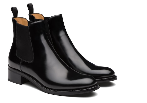 Church's  Polished Fumè Chelsea Boot Black