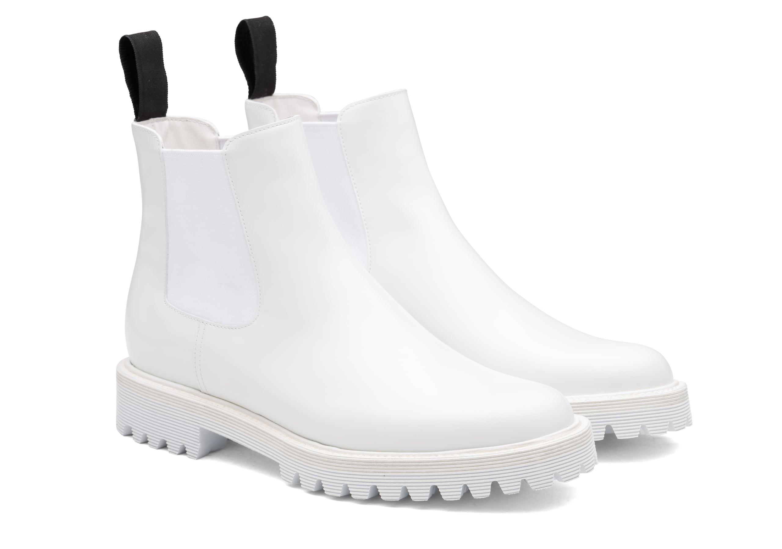 Nirah t Church's Rois Calf Leather Chelsea Boot White