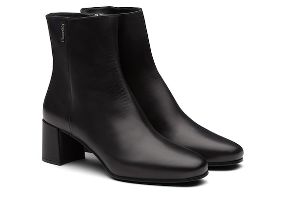 Church's true Calf Leather Heeled Boot Black