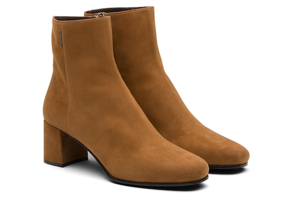 Church's true Suede Heeled Boot Tabac
