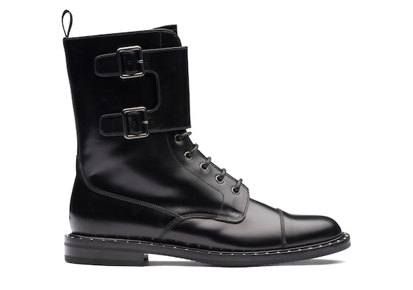 Rois Calf Lace-Up and Monk Boot