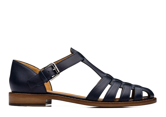Church's true Prestige Calf Leather Sandal Ink