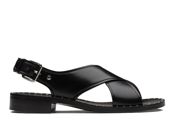 Church's true Calf Leather Sandal Black