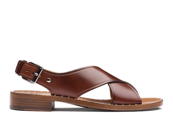 Church's true Calf Leather Sandal Brown