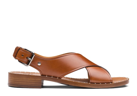 Church's  Calf Leather Sandal Oak
