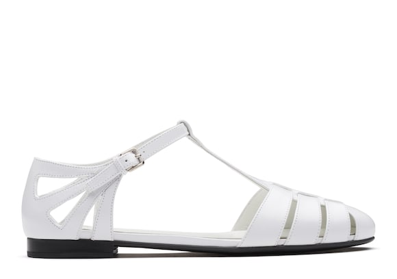 Church's Rainbow Shine Calf Leather T-Bar Sandal