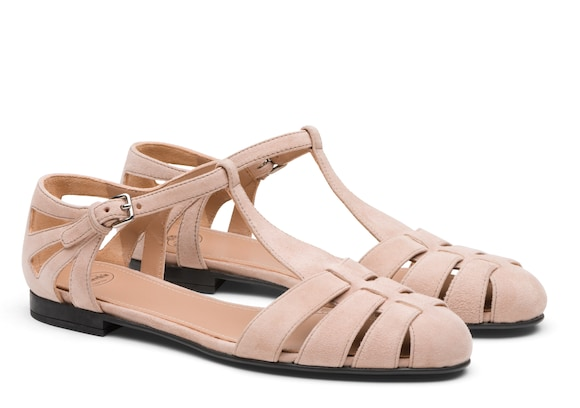 Church's  Suede T-Bar Sandal Blush