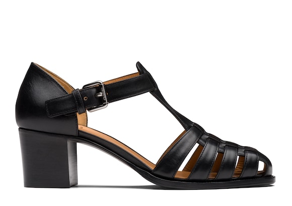 Church's Kelsey 50 Smart Calf Leather Mid Heel Sandal