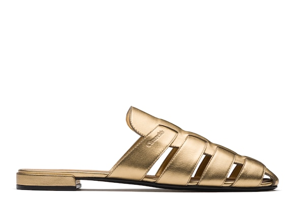 Church's true Nappa Leather Mule Sandal Light gold