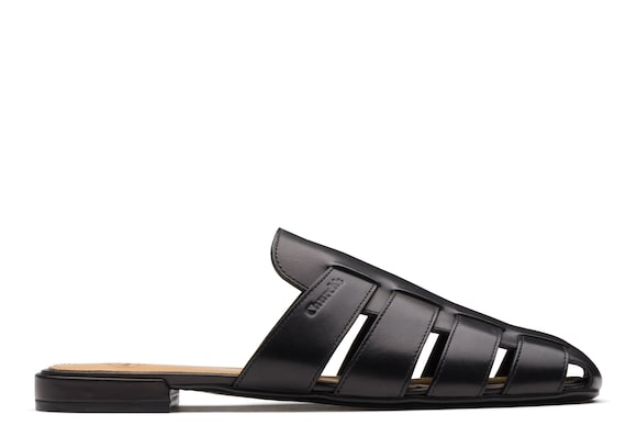 Church's Becky Calf Leather Mule Sandal Black