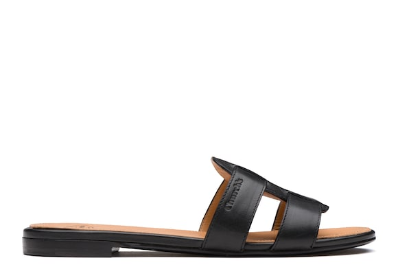 Church's Dee dee Calf leather slip on sandal Black