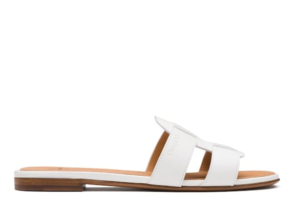 Church's Dee dee Calf leather slip on sandal White