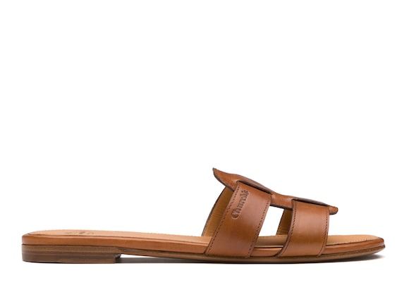 Church's Dee dee Calf leather slip on sandal Oak