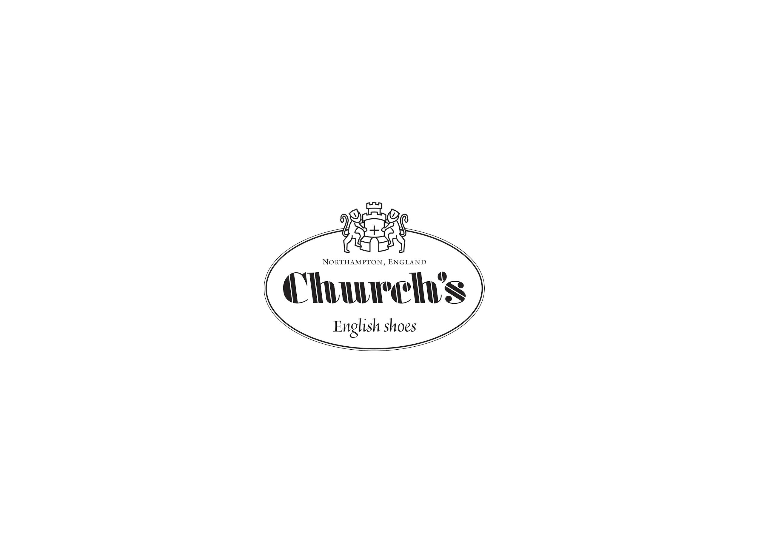 Rhonda met Church's Bookbinder Fumè Sandal Stud Black