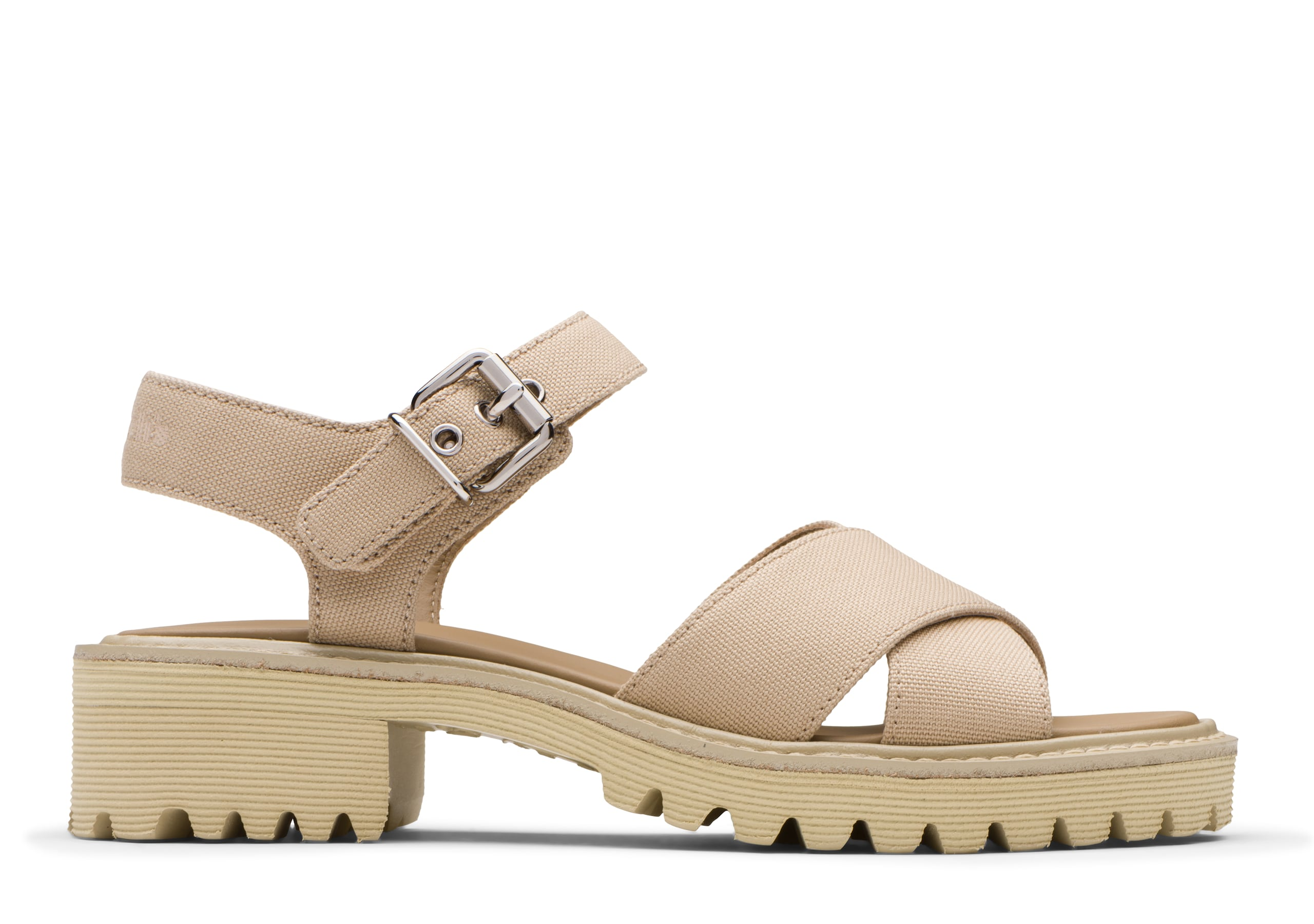 Gaia Church's Canvas Lightweight Sandal Neutral