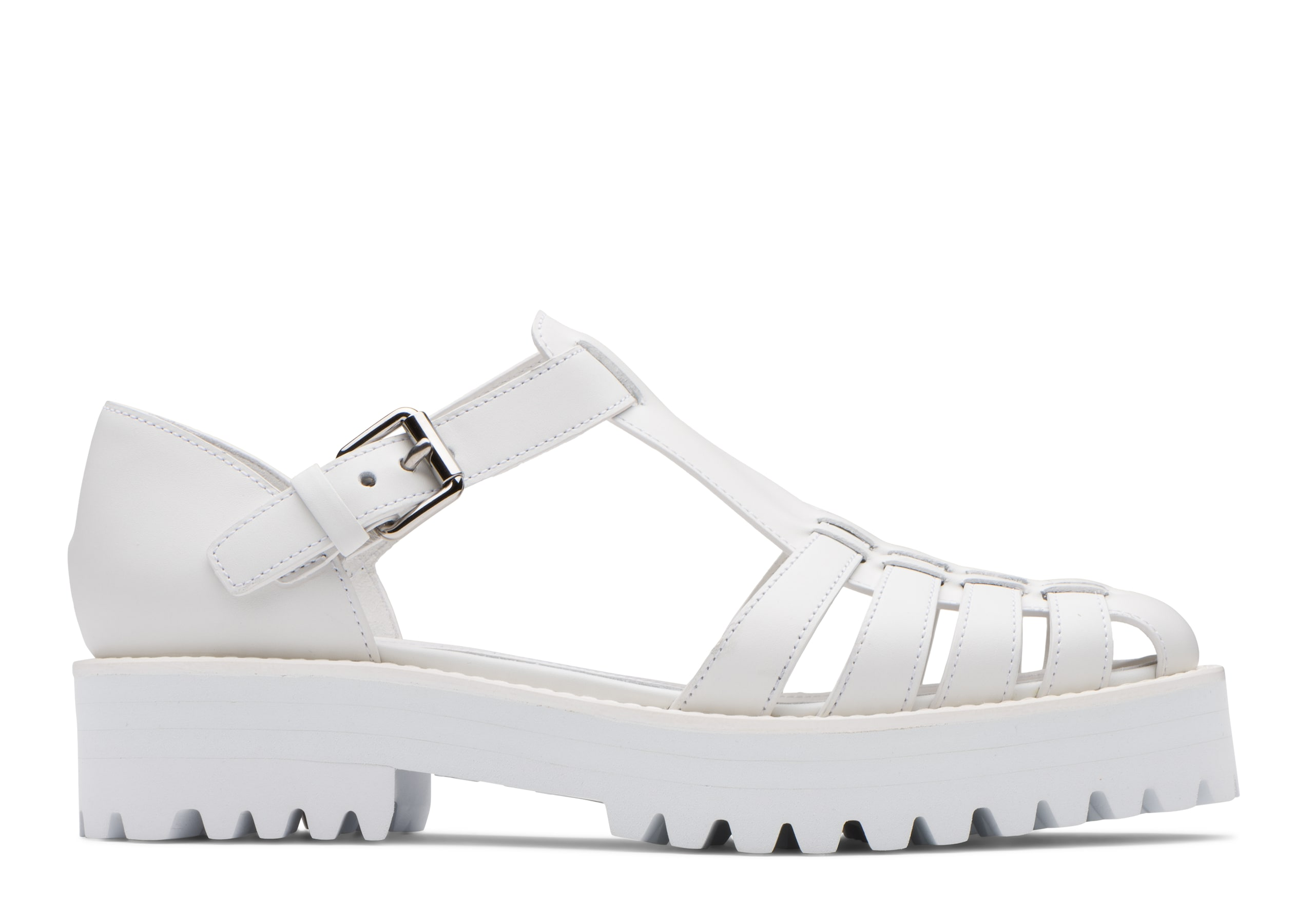 Kelsey lw Church's Prestige Calf Lightweight Sandal White