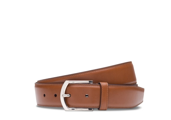 Church's Classic buckle belt Nevada Leather Walnut