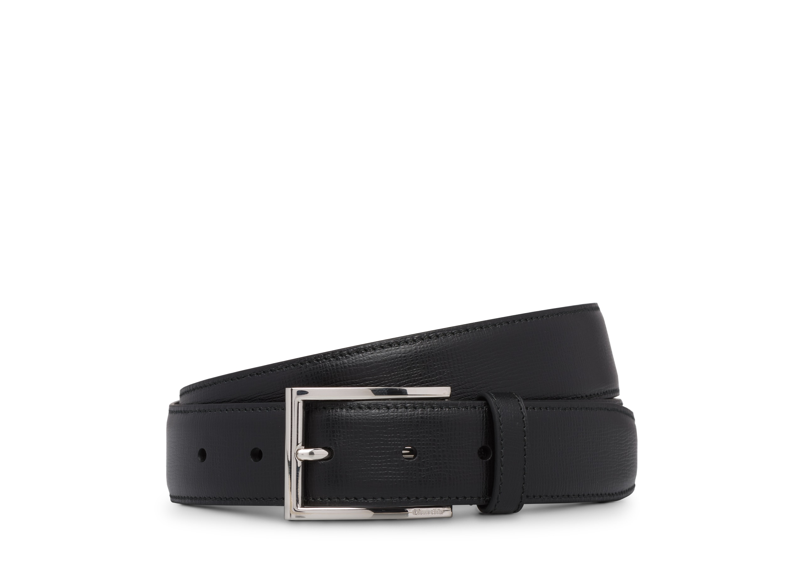 Elongated buckle belt Church's St James Leather Belt Black