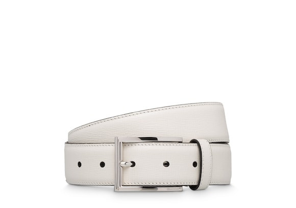 Church's Elongated buckle belt St Jamesレザー ベルト ホワイト