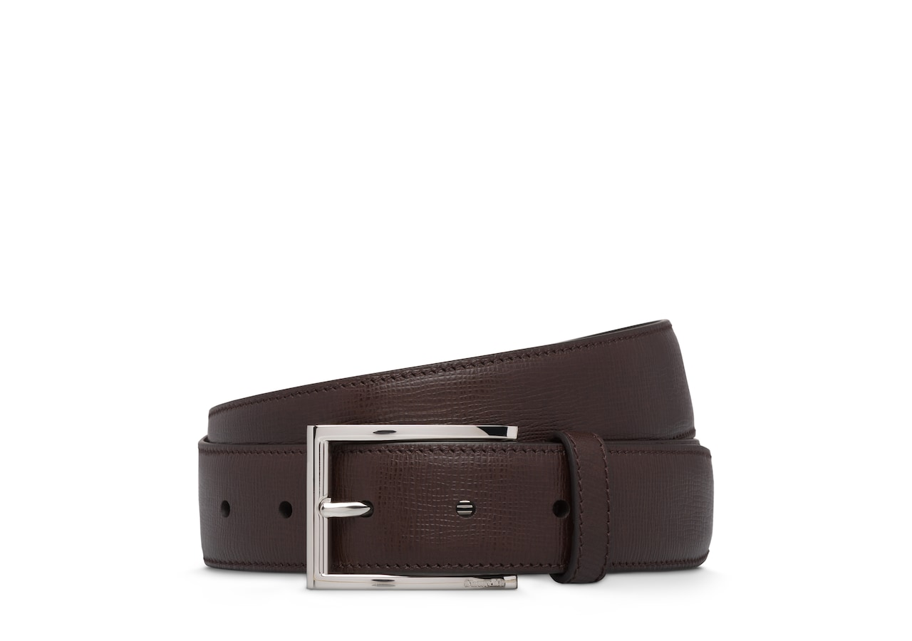 Elongated buckle belt Church's St James Leather Belt Brown
