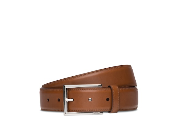 Church's Elongated buckle belt Nevadaレザー ブラウン