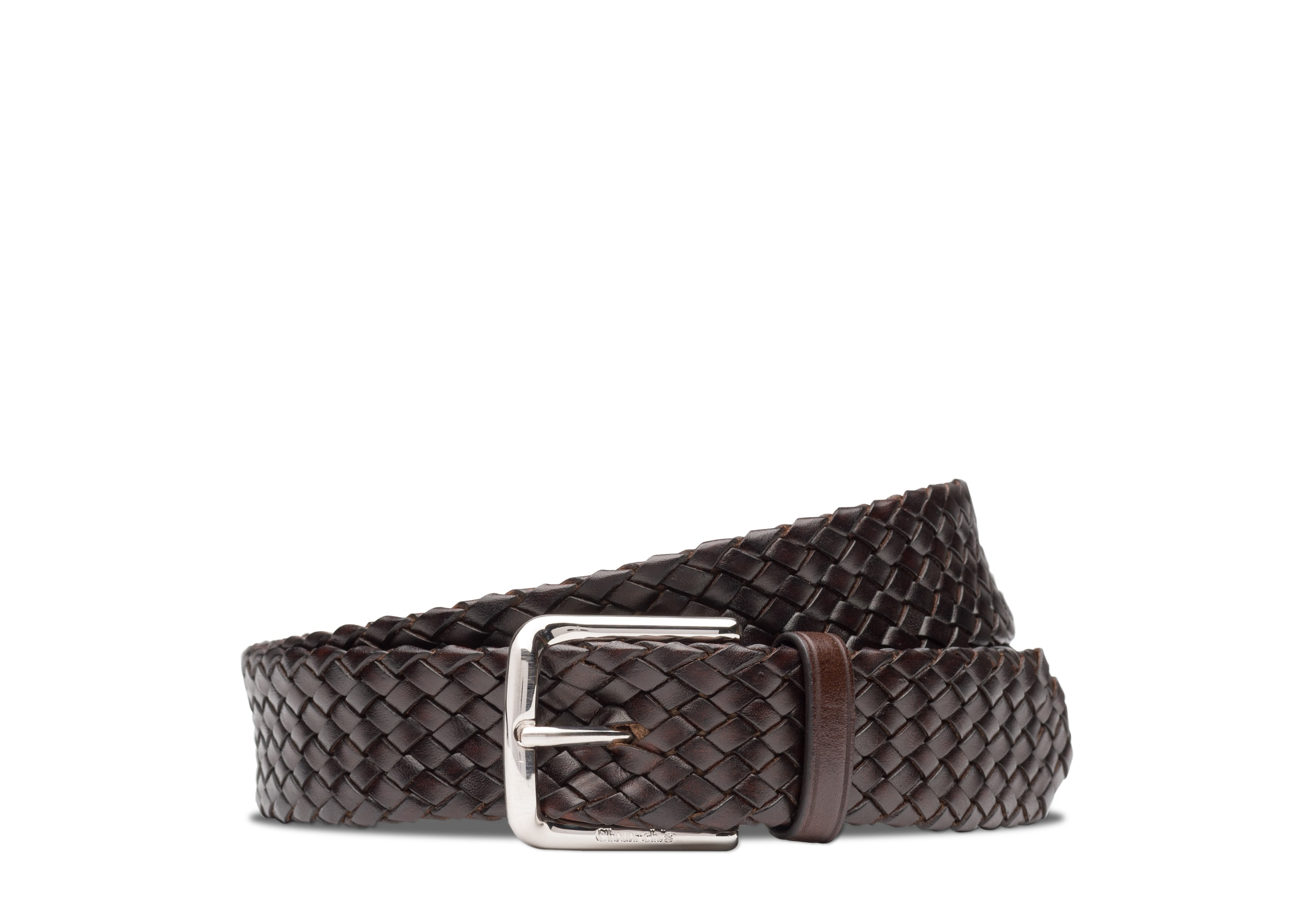 Woven belt Church's Polished Binder Weave Brown
