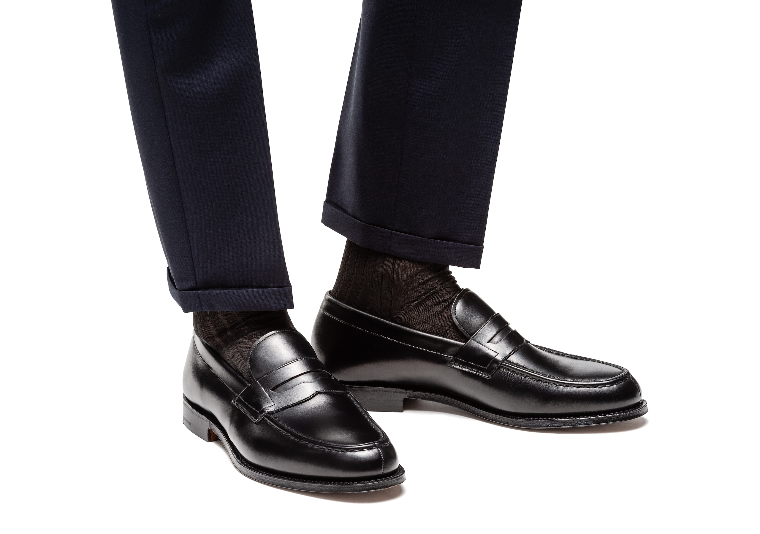 Darwin Church's Calf Leather Loafer Black