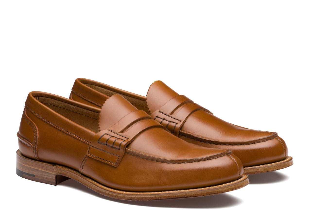 Pembrey Church's Rodeo Calf Leather Loafer Brown