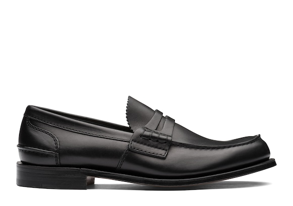 Church's true Calf Leather Loafer Black