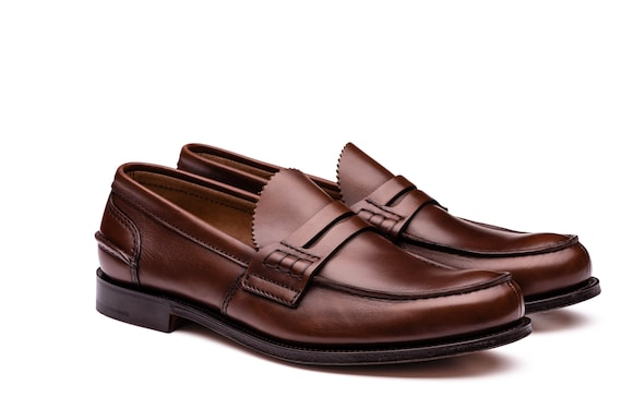 Church's  Calf Leather Loafer Cognac