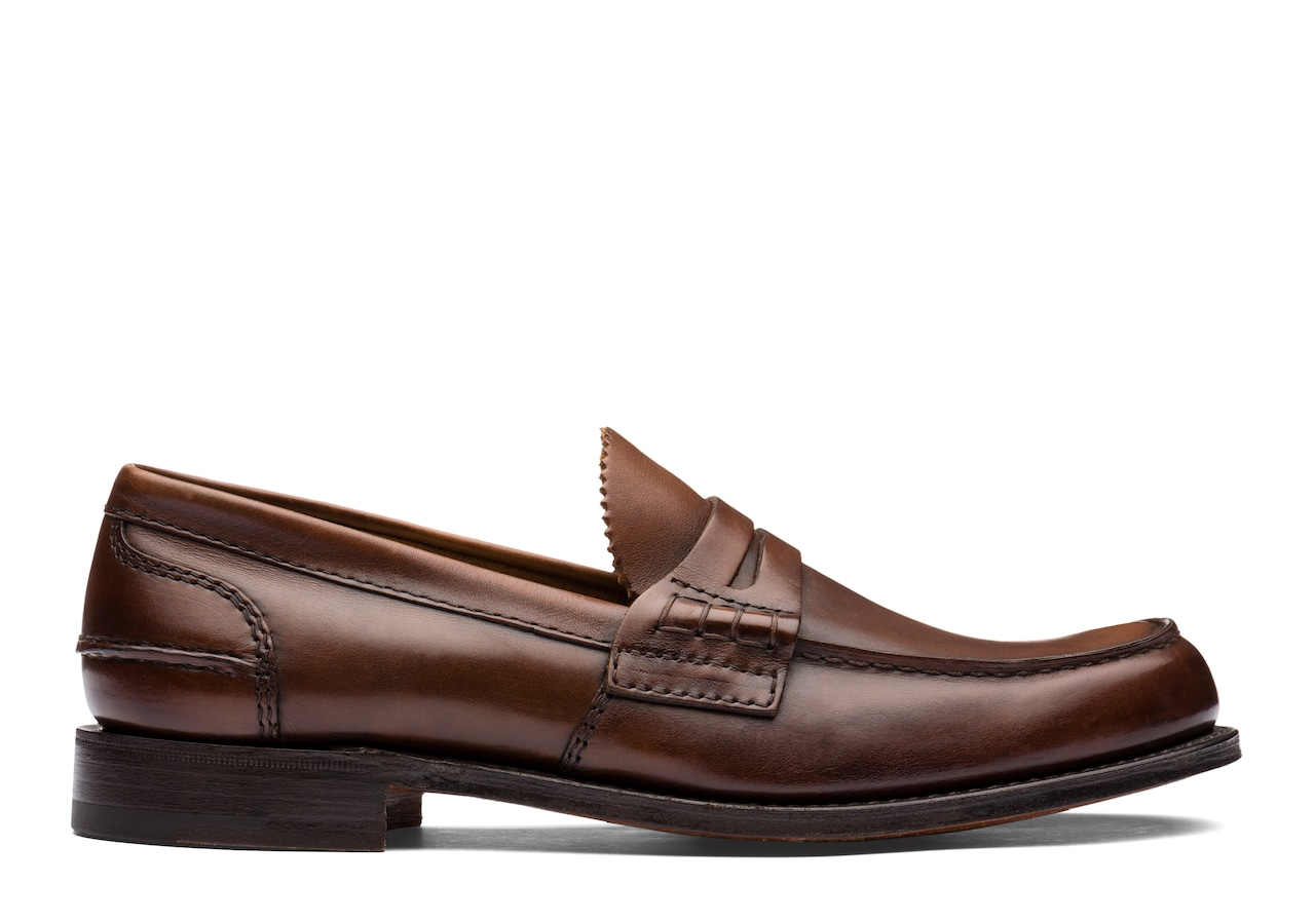 Pembrey Church's Calf Leather Loafer Brown