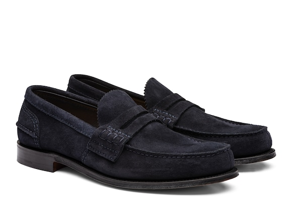 Church's Pembrey Suede Loafer Blue