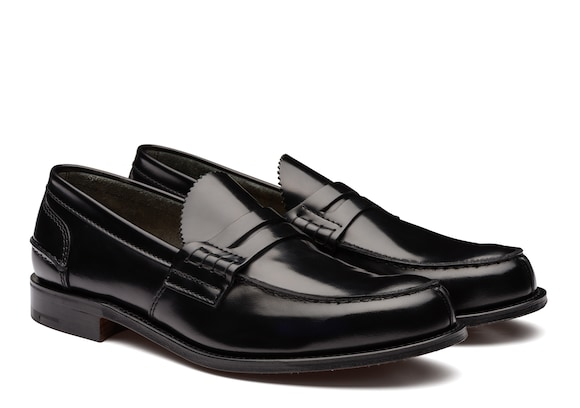 Church's Tunbridge Bookbinder Fumè Penny Loafer Black