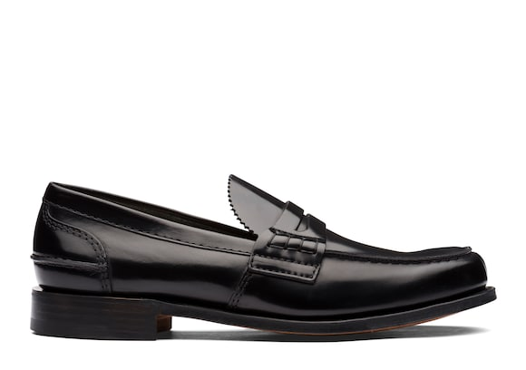 Church's  Bookbinder Fumè Penny Loafer Black