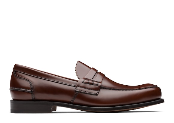Church's Tunbridge Bookbinder Fumè Penny Loafer Tabac