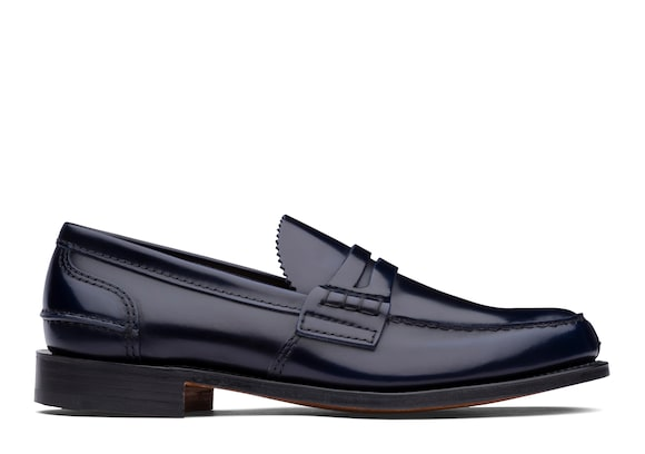 Church's Tunbridge Bookbinder Fumè Penny Loafer Navy