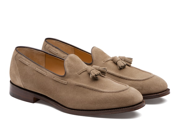 Church's  Mocassin en Suede Stone
